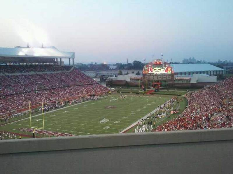 Seating view for Papa John's Cardinal Stadium