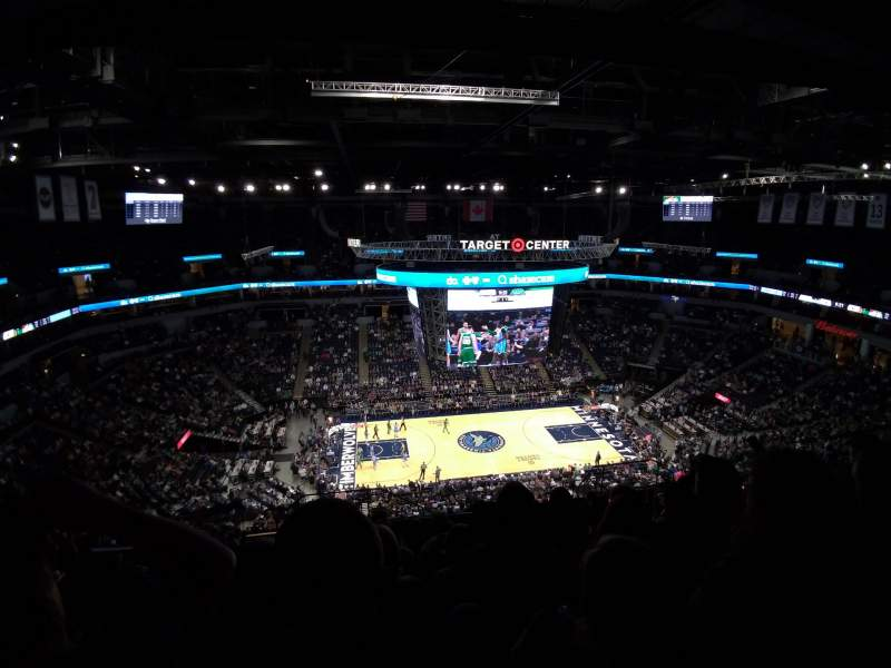 Seating view for Target Center Section 232 Row S Seat 14