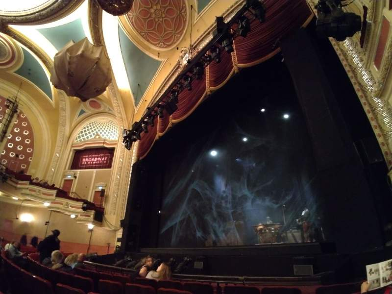 Seating view for Orpheum Theatre (Minneapolis) Section Main Floor 2 Row E Seat 17