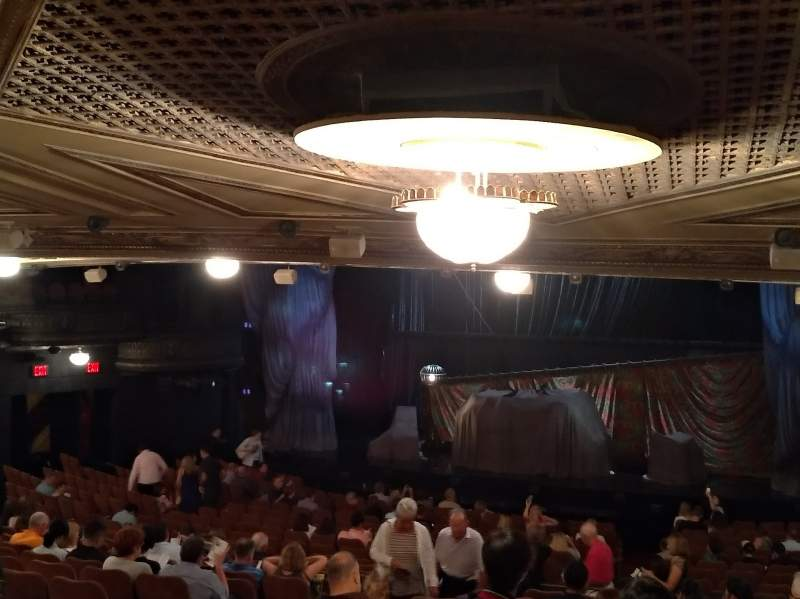 Seating view for Majestic Theatre Section Orchestra R Row X Seat 16