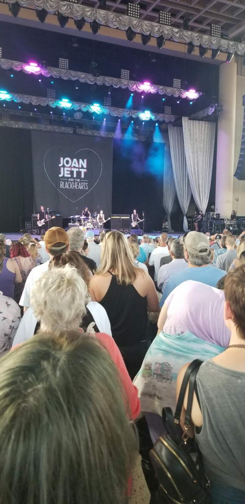 Seating view for Ruoff Home Mortgage Music Center Section B Row V Seat 101