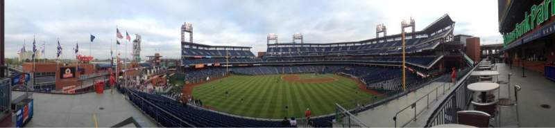 Seating view for Citizens Bank Park Section STR