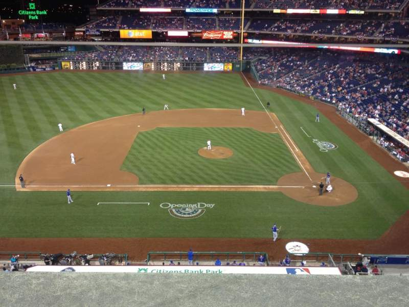 Seating view for Citizens Bank Park Section 325 Row 1 Seat 20