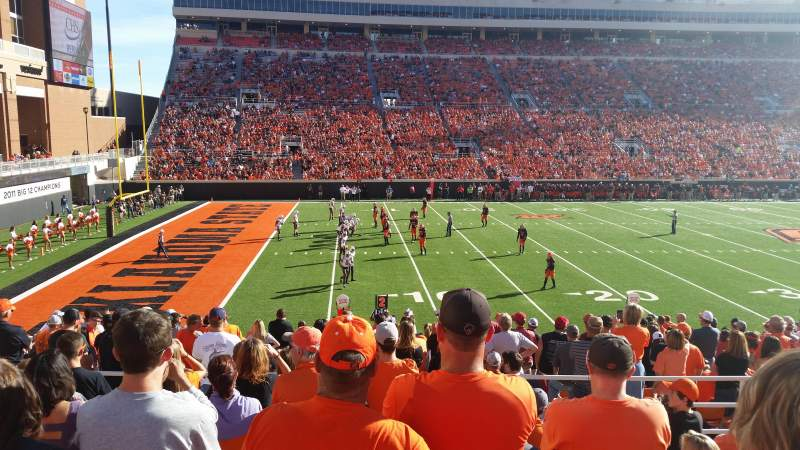 Seating view for Boone Pickens Stadium Section 227 Row 9 Seat 13