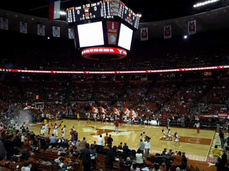 Seating view for Frank Erwin Center Section 37 Row 22 Seat 9