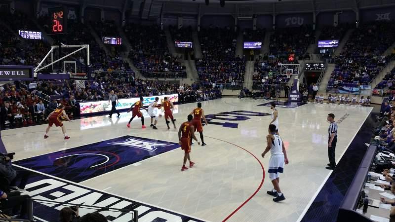 Schollmaier Arena, section: 105, row: D, seat: 11