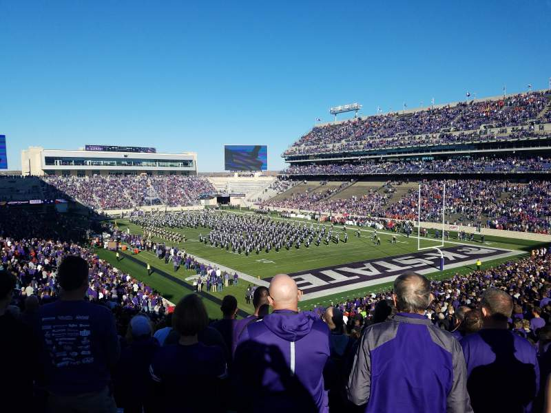 Seating view for Bill Snyder Family Stadium Section 11 Row 46 Seat 1