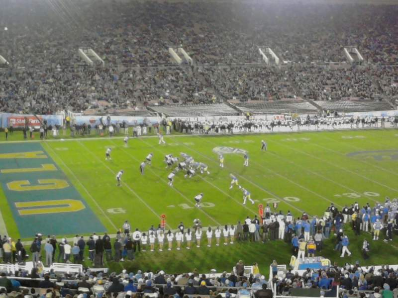 Seating view for Rose Bowl Section 2-L Row 71 Seat 5