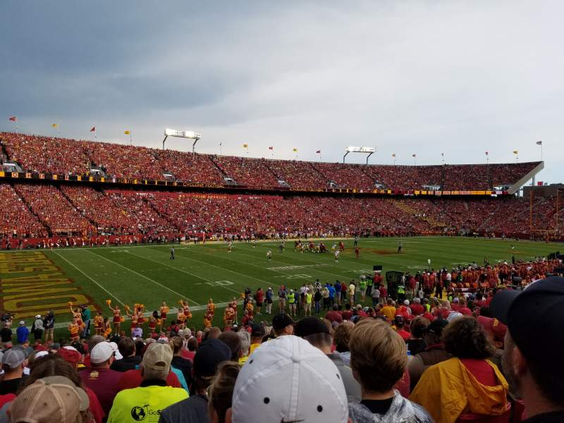 Seating view for Jack Trice Stadium Section 3 Row 25 Seat 7