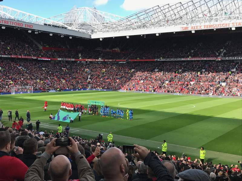 Seating view for Old Trafford Section STH126
