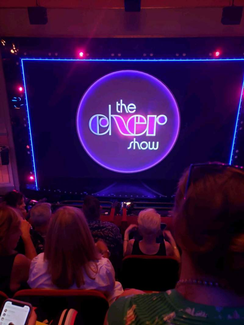 Seating view for Neil Simon Theatre Section Front Mezzanine C Row D Seat 113