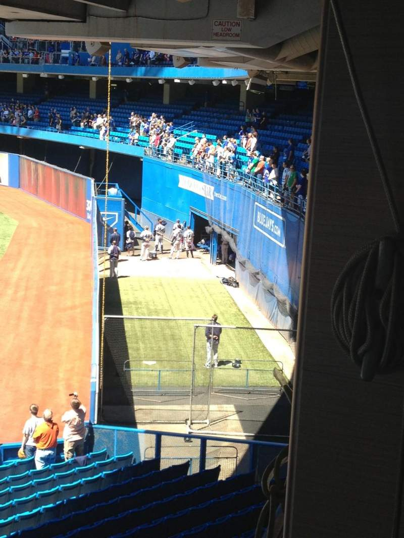 Seating view for Rogers Centre
