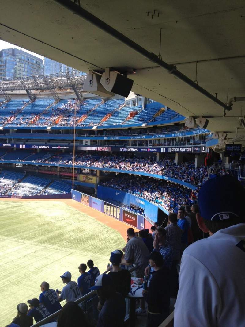 Seating view for Rogers Centre Section 200