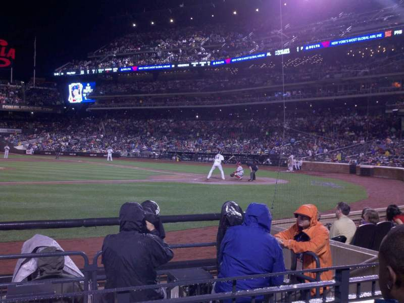 Seating view for Citi Field Section 121 Row 3 Seat 10