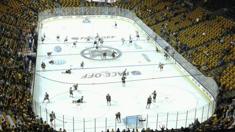 Seating view for TD Garden Section Bal 324 Row 12 Seat 21