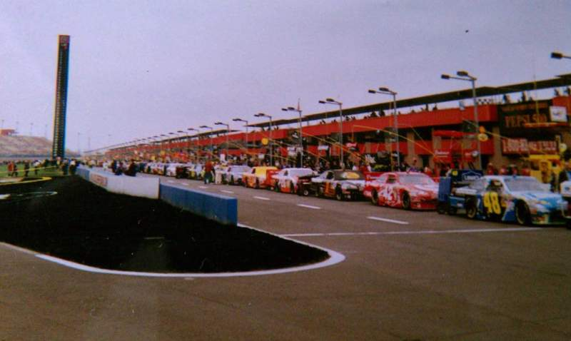 Seating view for Auto Club Speedway