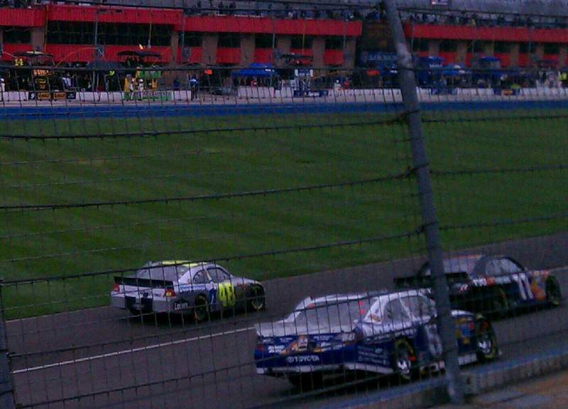 Seating view for Auto Club Speedway Section 7 Row 7 Seat 1