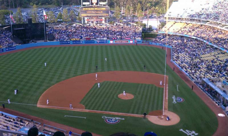 Seating view for Dodger Stadium Section 11 Row 9 Seat 3