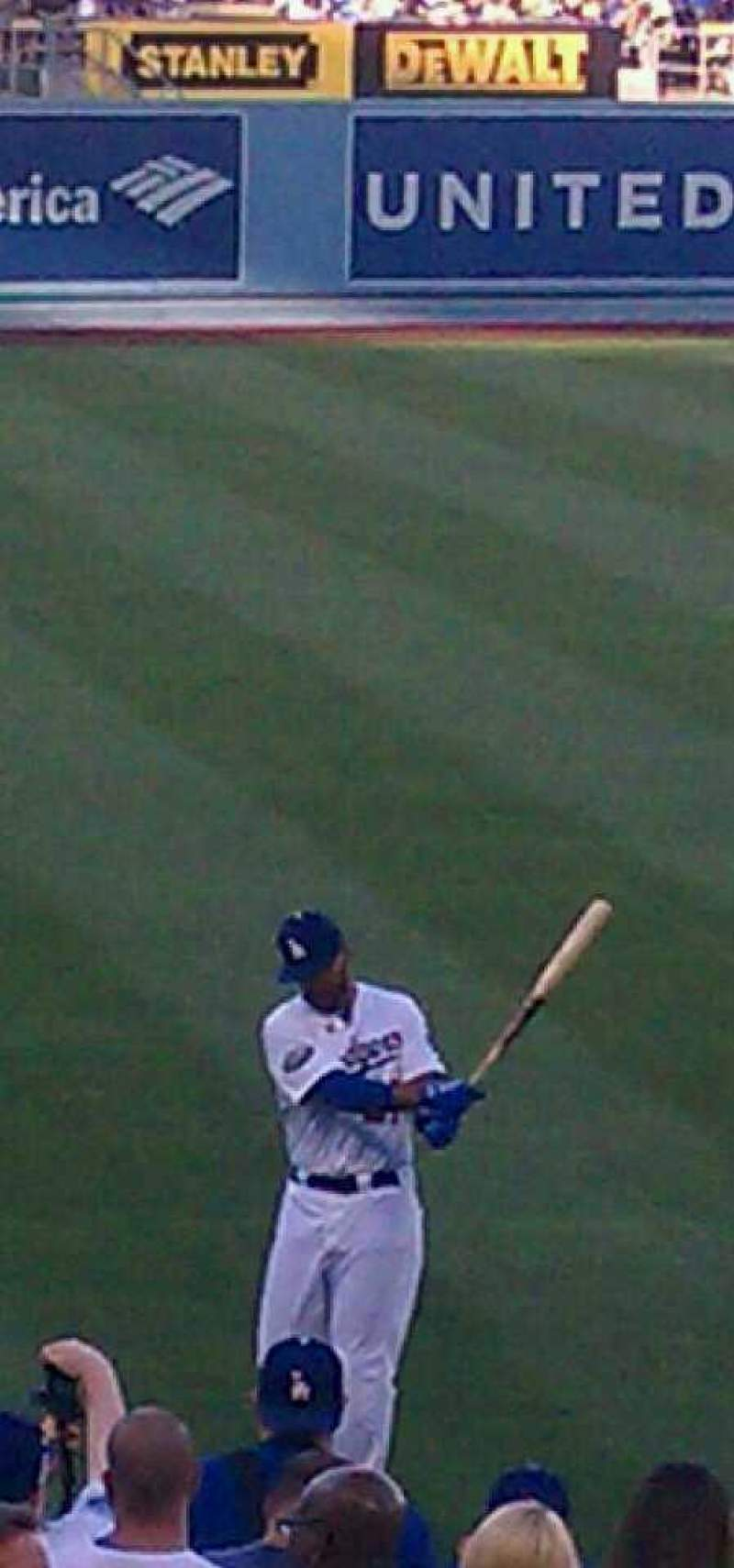 Seating view for Dodger Stadium Section 43RS Row S Seat 1-2