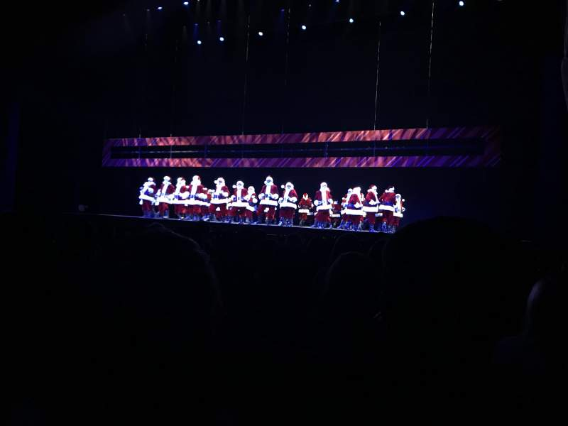 Radio City Music Hall, section: Orchestra 3, row: GG, seat: 301-304