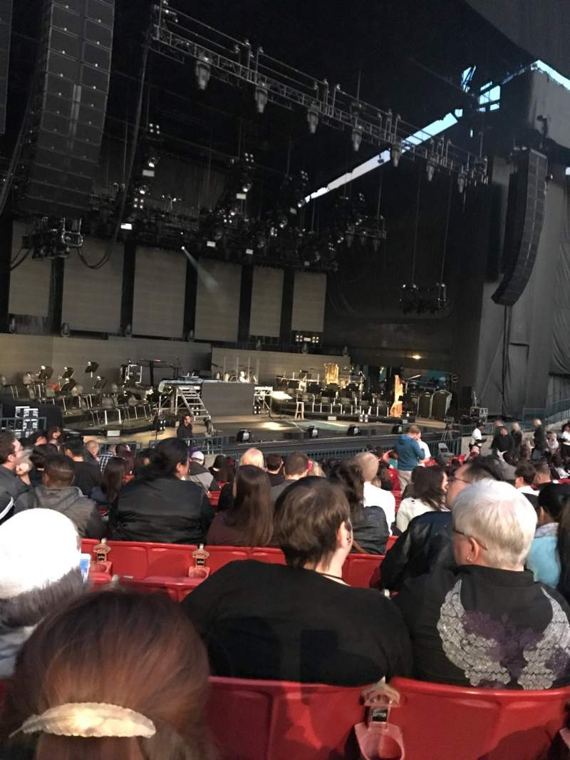 Seating view for Shoreline Amphitheatre Section 103 Row L Seat 11