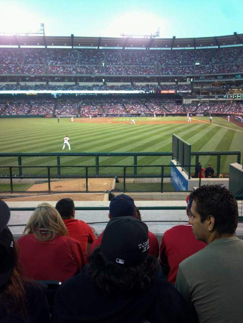 Seating view for Angel Stadium Section P259 Row L Seat 22