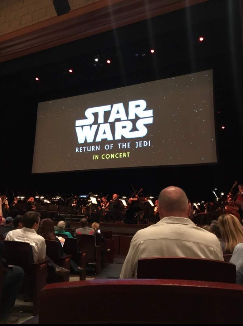 Seating view for Walt Disney Theatre - Dr. Phillips Center Section Lower Orchestra R Row G Seat 2