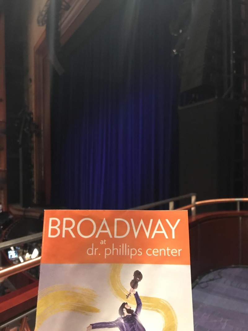 Seating view for Walt Disney Theatre - Dr. Phillips Center Section Box Row Box 2 Seat 2