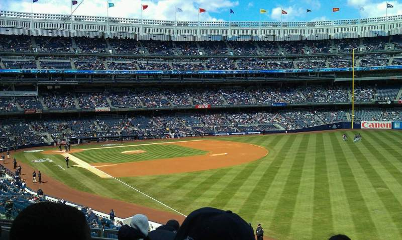 Seating view for Yankee Stadium Section 209 Row 6 Seat 11