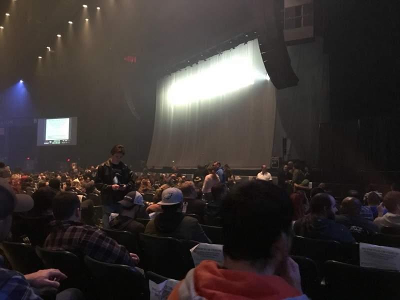 BB&T Pavilion, section: 100, row: L, seat: 8