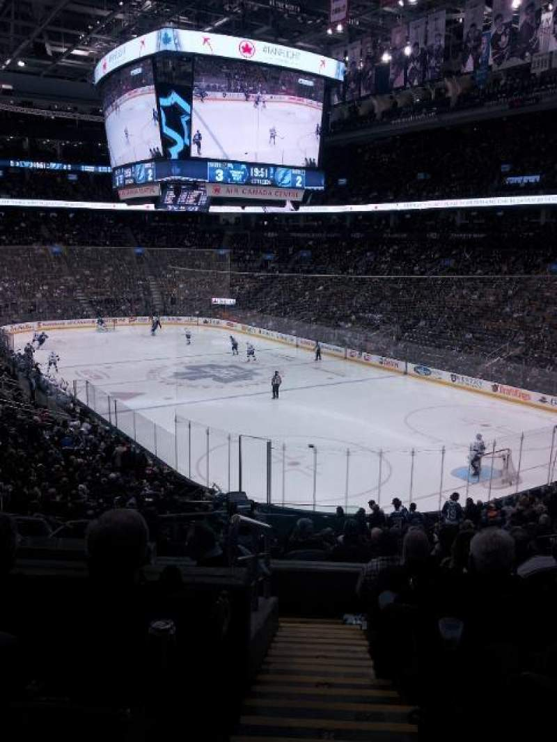Seating view for Air Canada Centre Section 115 Row 28 Seat 21