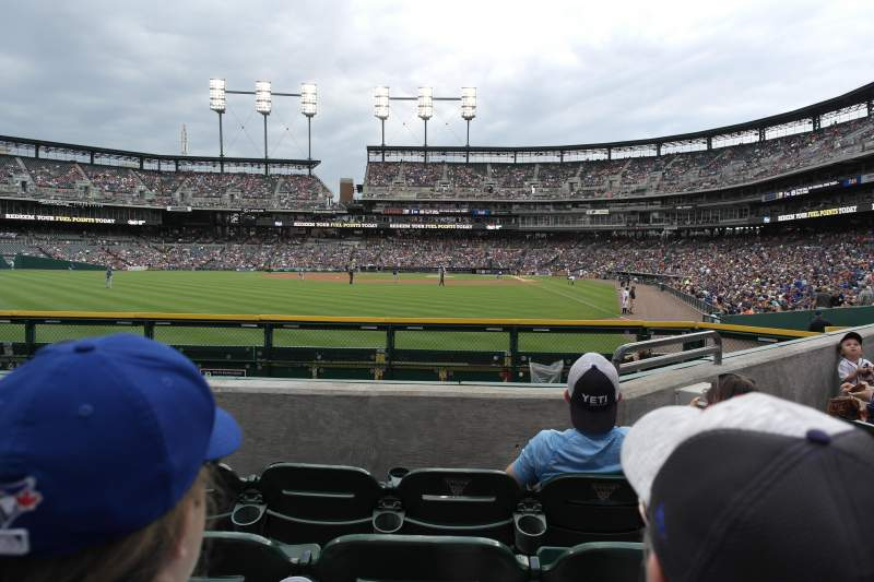 Seating view for Comerica Park Section 147 Row D Seat 4