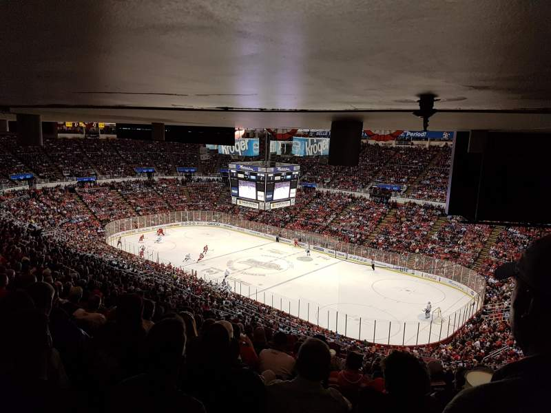 Seating view for Joe Louis Arena Section 218A Row 27 Seat 1