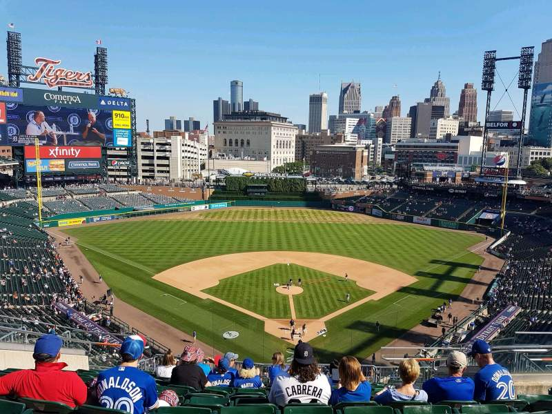 Seating view for Comerica Park Section 328 Row 11 Seat 11
