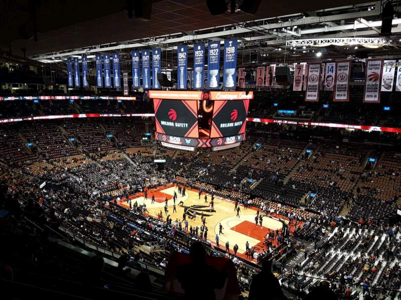 Scotiabank Arena, section: 319, row: 12, seat: 1