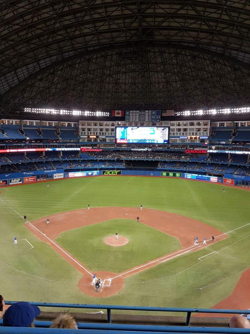 Rogers Centre, section: 524ar, row: 4, seat: 7