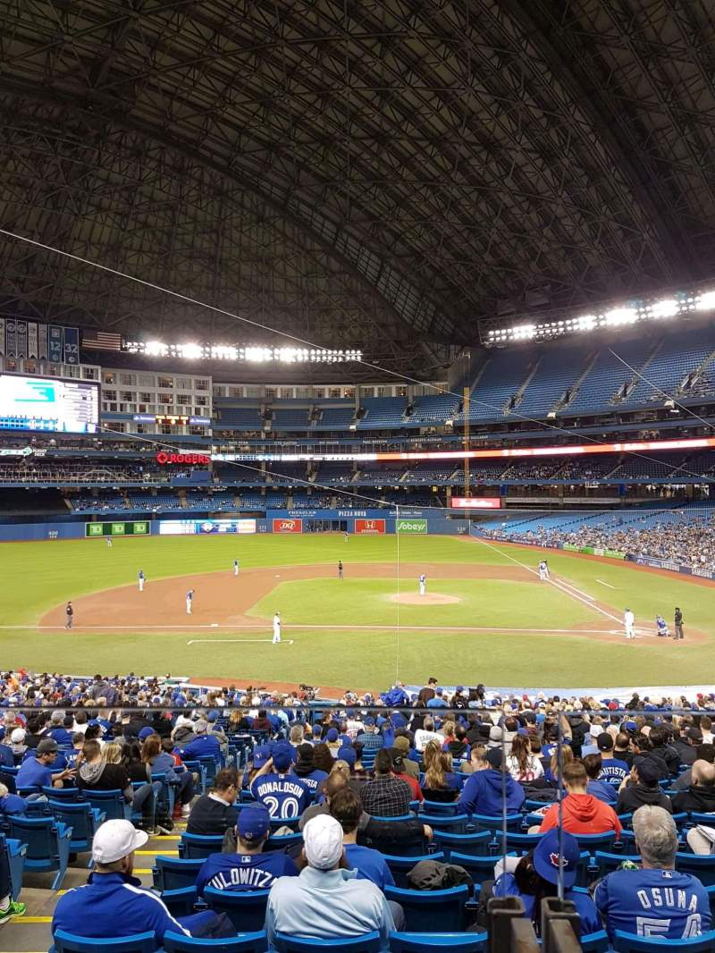Rogers Centre, section: 126R, row: 40, seat: 1