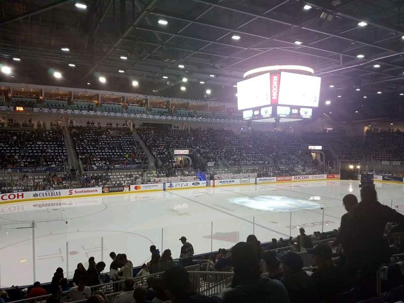 Coca-Cola Coliseum, section: 112, row: h, seat: 7