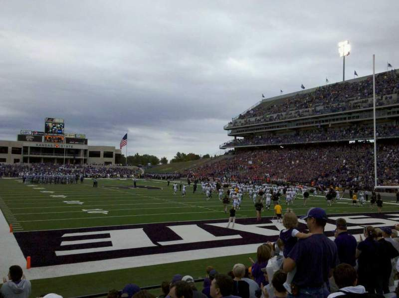 Seating view for Bill Snyder Family Stadium Section 13 Row 11 Seat 20