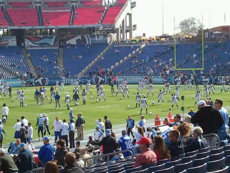 Nissan Stadium, section: 137, row: S, seat: 23