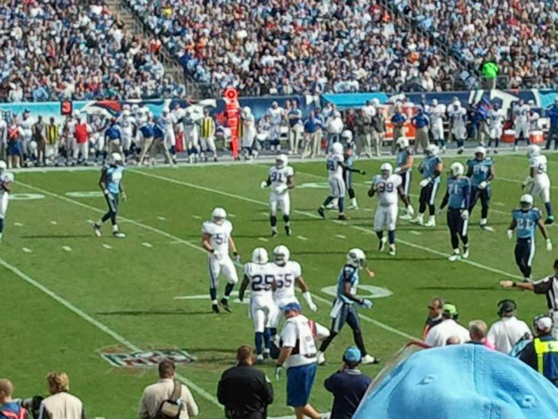 Seating view for Nissan Stadium Section 137 Row S Seat 23