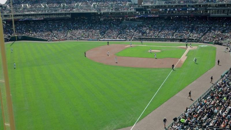 Seating view for Comerica Park Section 344 Row A Seat 22