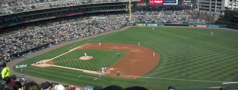 Seating view for Comerica Park Section 218 Row 10 Seat 9