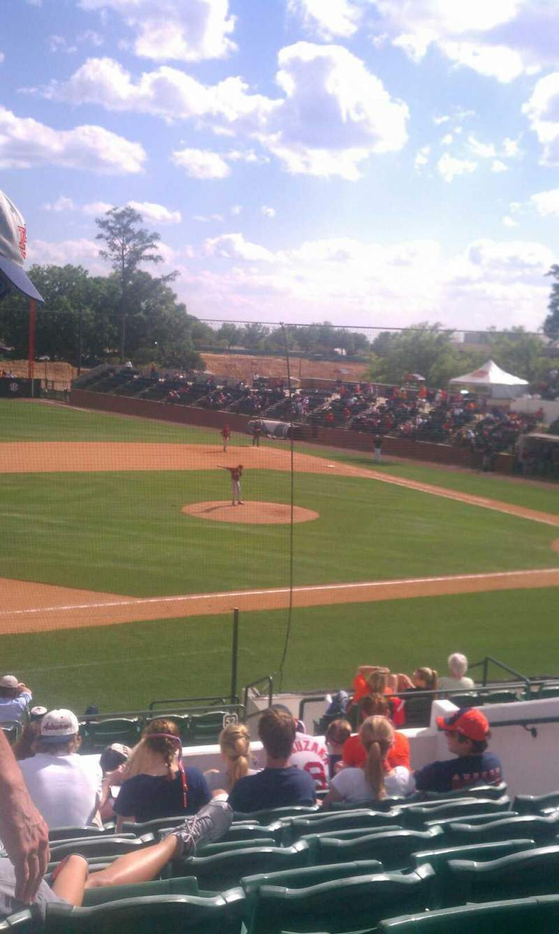Seating view for Plainsman Park Section 111 Row 13 Seat 9