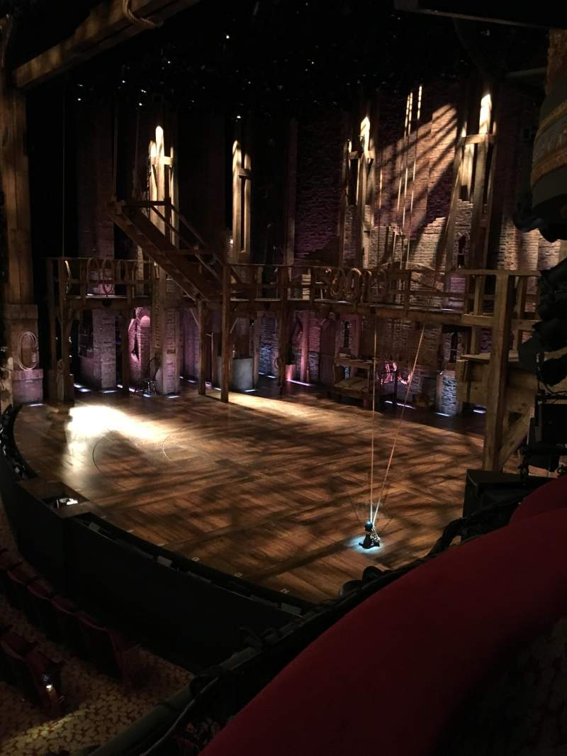 Seating view for Richard Rodgers Theatre Section Box D Seat 3