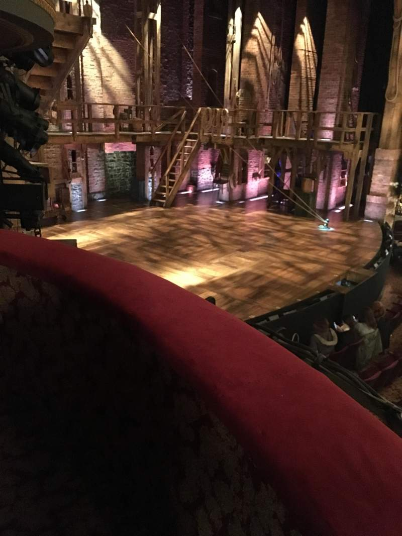 Seating view for Richard Rodgers Theatre Section Box B Seat 3
