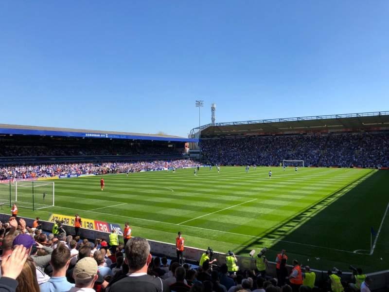 St Andrew's Stadium, section: GML1, row: 18, seat: 25