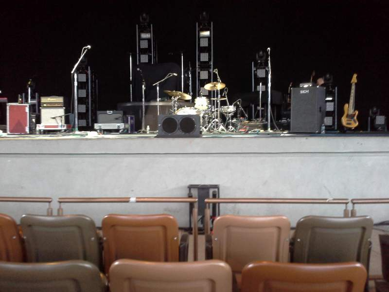 Seating view for Bethel Woods Center for the Arts Section 1 Row C Seat 5