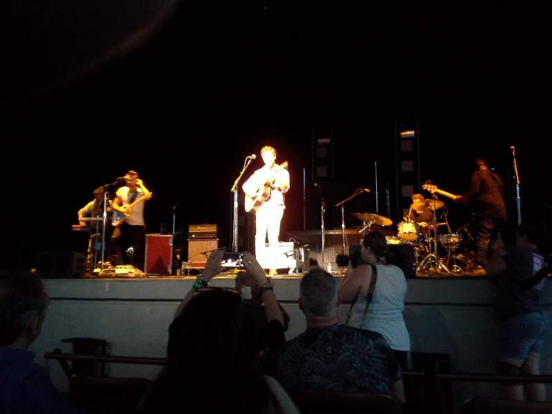 Bethel Woods Center for the Arts, section: 01, row: C, seat: 5