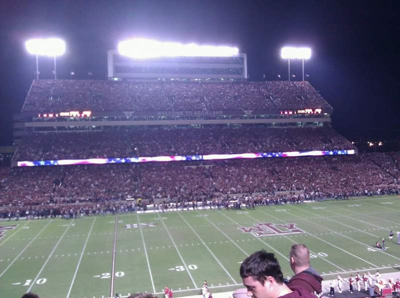 Seating view for Kyle Field Section 236